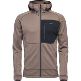 Black Diamond Factor Hoody Herre Walnut/Black